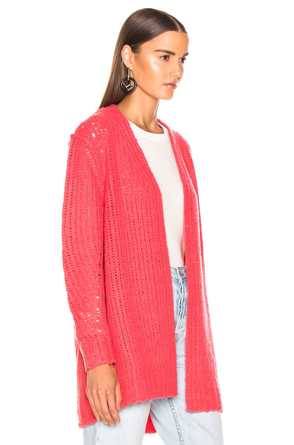 Image 2 of Rag & Bone Arizona Cardigan in Pink