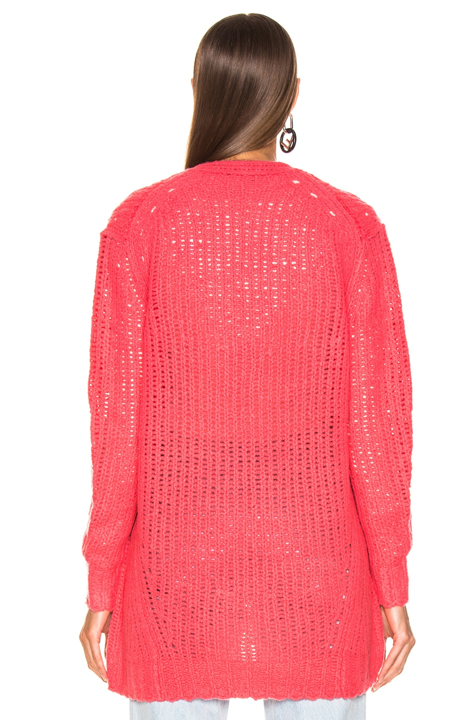 Image 3 of Rag & Bone Arizona Cardigan in Pink