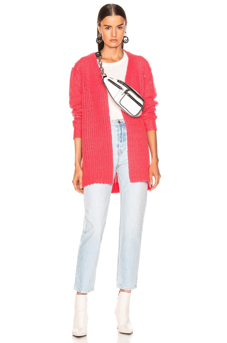 Image 4 of Rag & Bone Arizona Cardigan in Pink