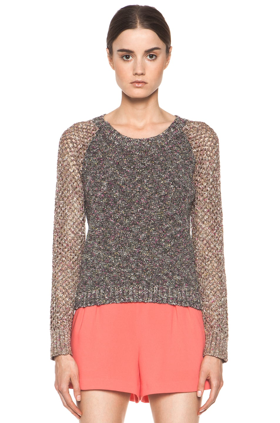 Image 1 of Rag & Bone Lory Sweater in Black