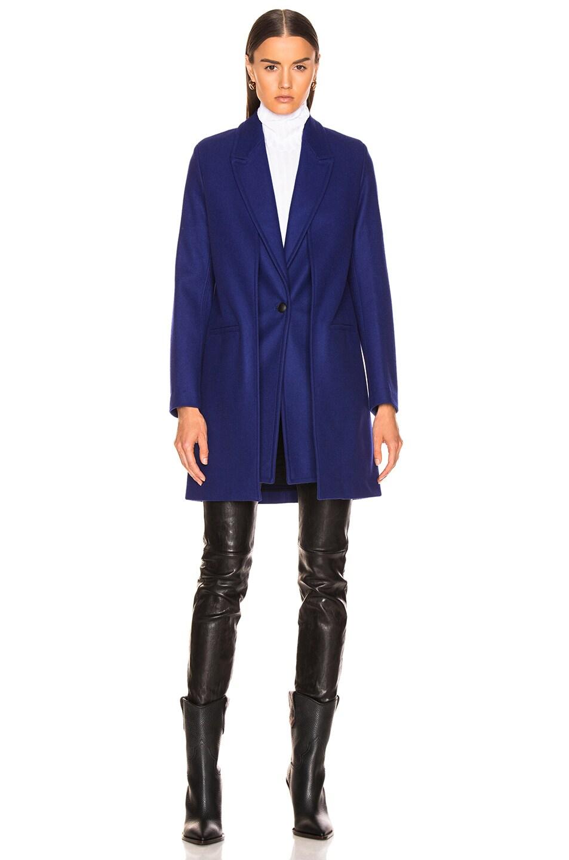 Image 2 of Rag & Bone Kaye Coat in Bright Blue