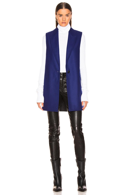 Image 3 of Rag & Bone Kaye Coat in Bright Blue