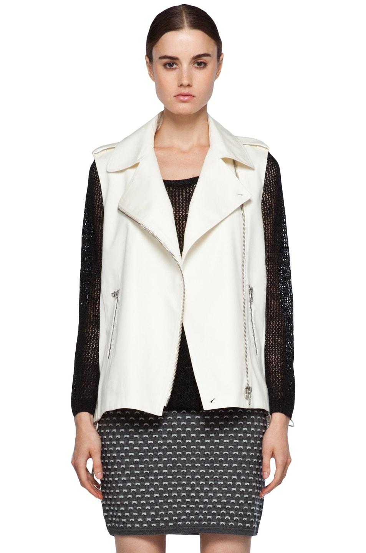 Image 1 of Rag & Bone Seymour Vest in Ivory