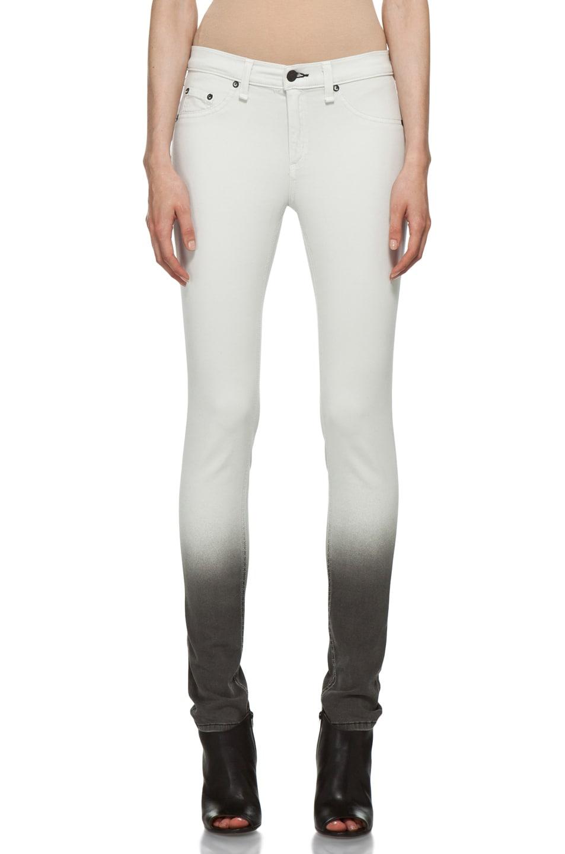Image 1 of Rag & Bone Ombre Plush Legging in Winter White
