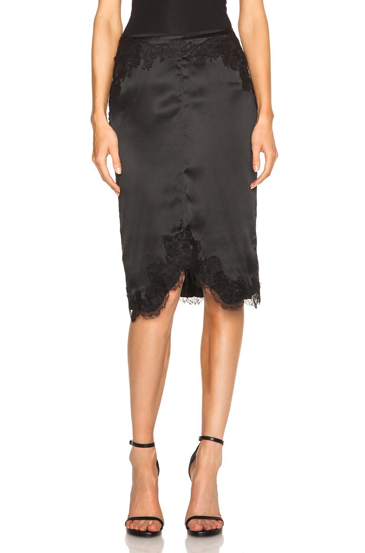 Image 1 of Rag & Bone Izabella Skirt in Black