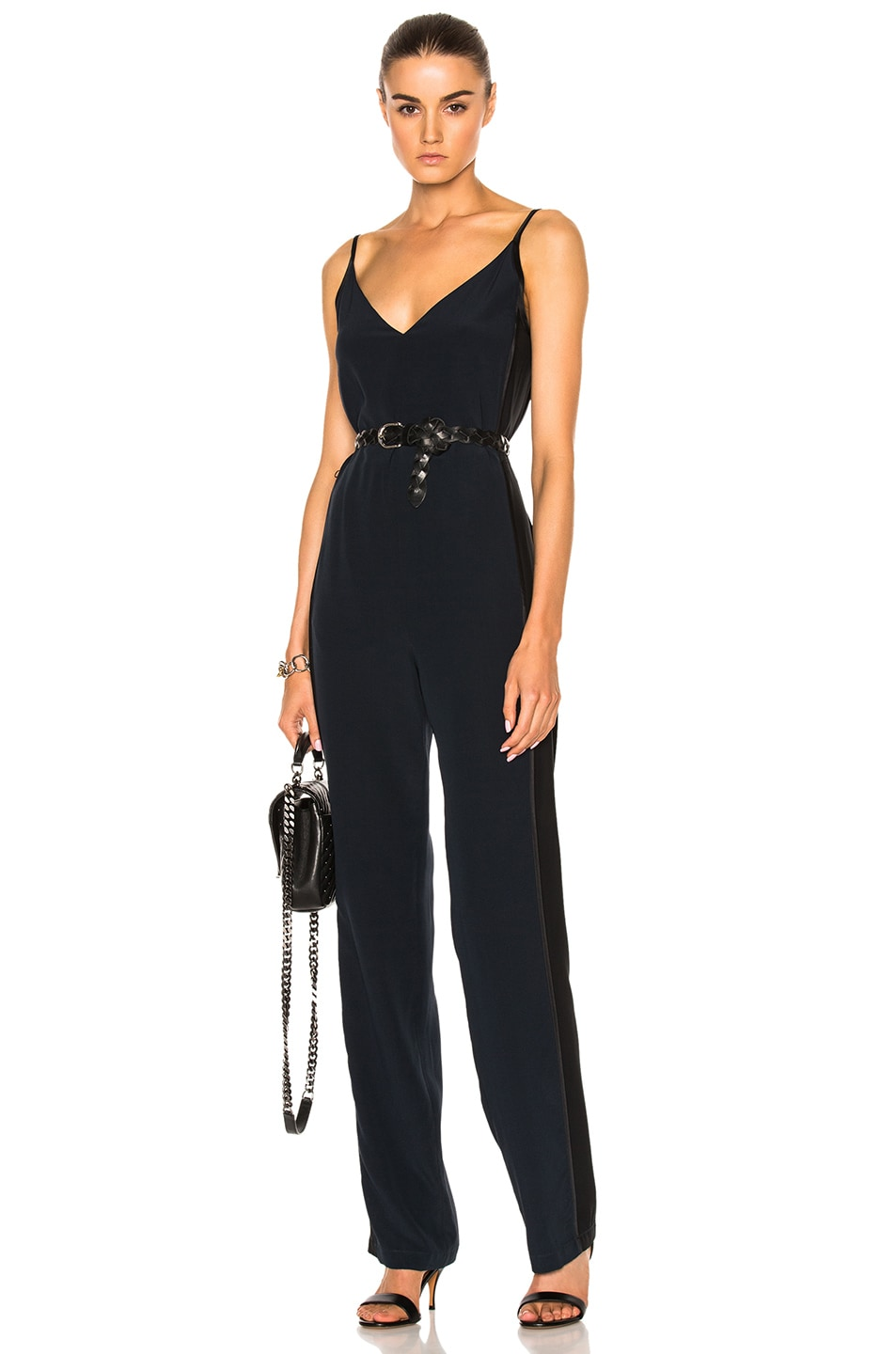 92db11d1e4c8 Image 1 of Rag   Bone Rosa Silky Jumpsuit in Salute