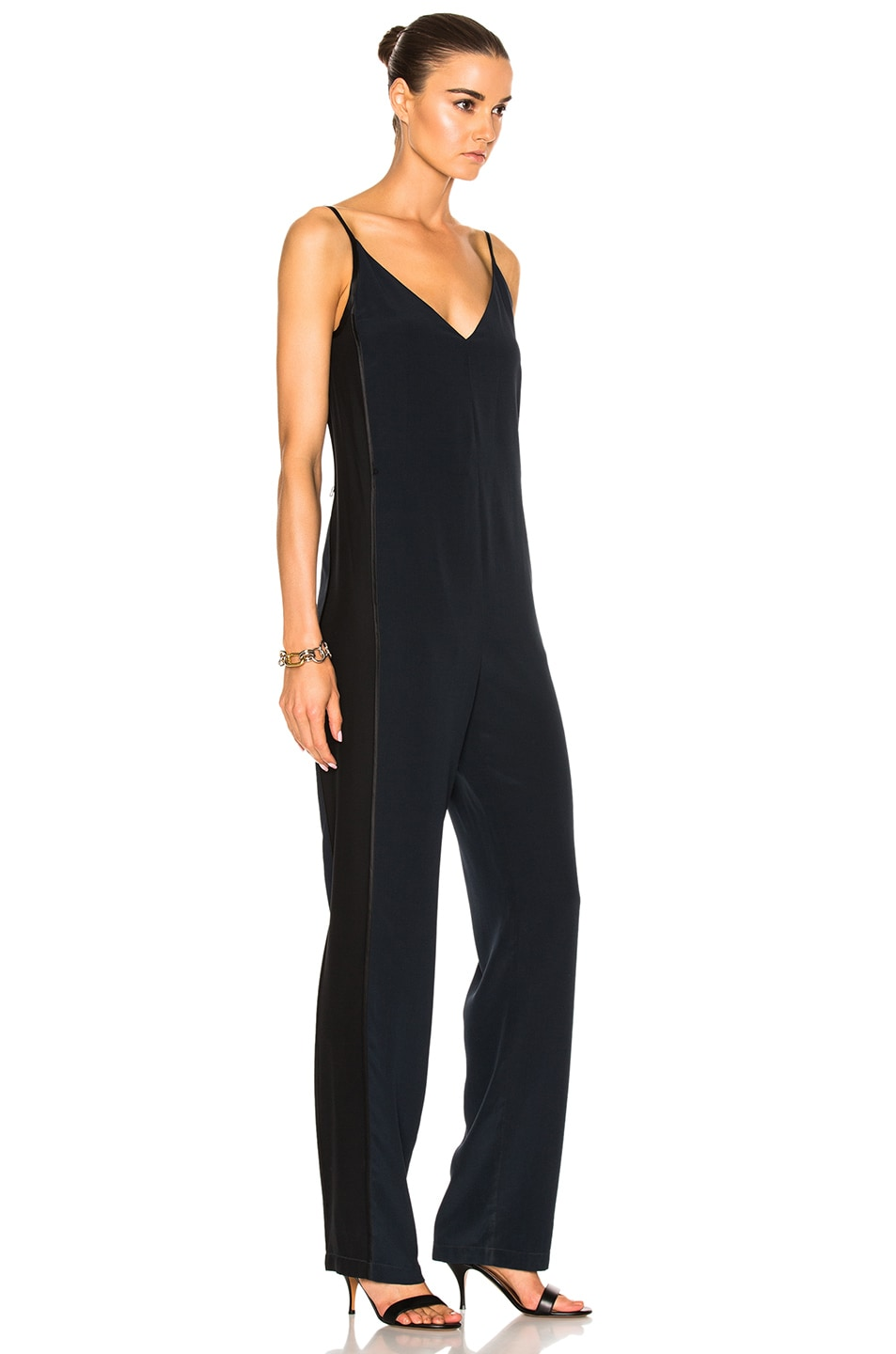 ae24cd998642 Image 3 of Rag   Bone Rosa Silky Jumpsuit in Salute