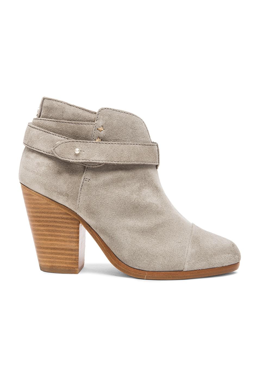Image 1 of Rag & Bone Harrow Suede Boots in Light Grey