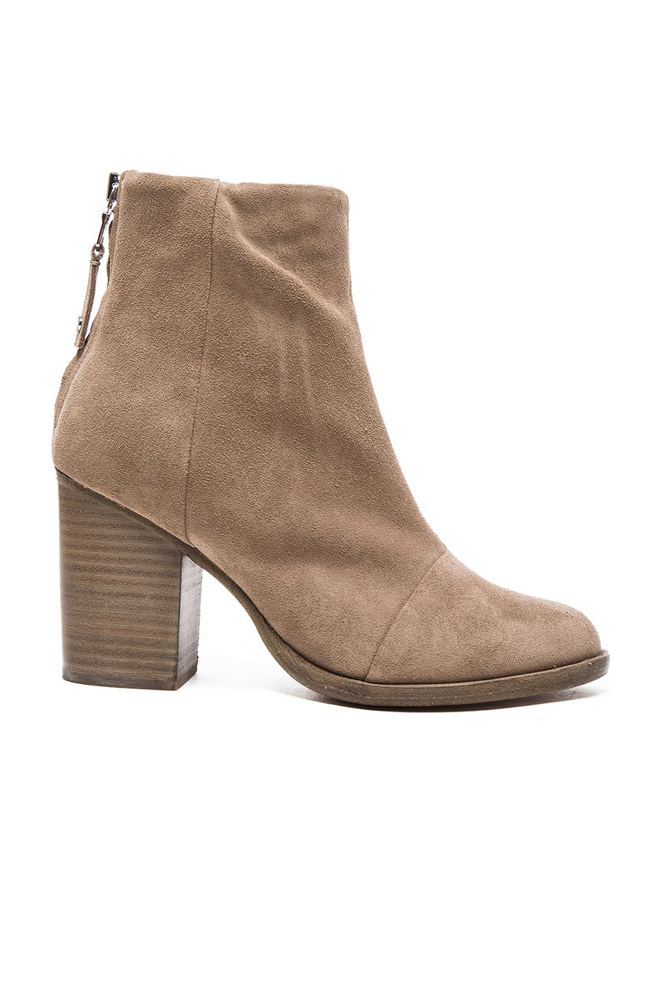 Image 1 of Rag & Bone Suede Ashby Booties in Stone