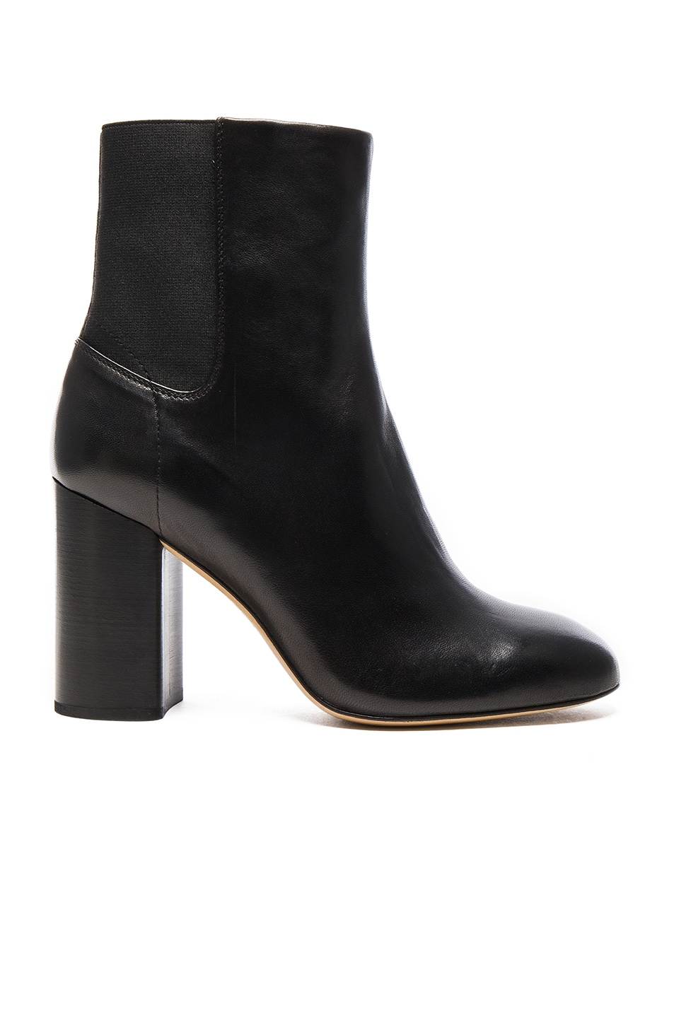 Image 1 of Rag & Bone Leather Agnes Booties in Black