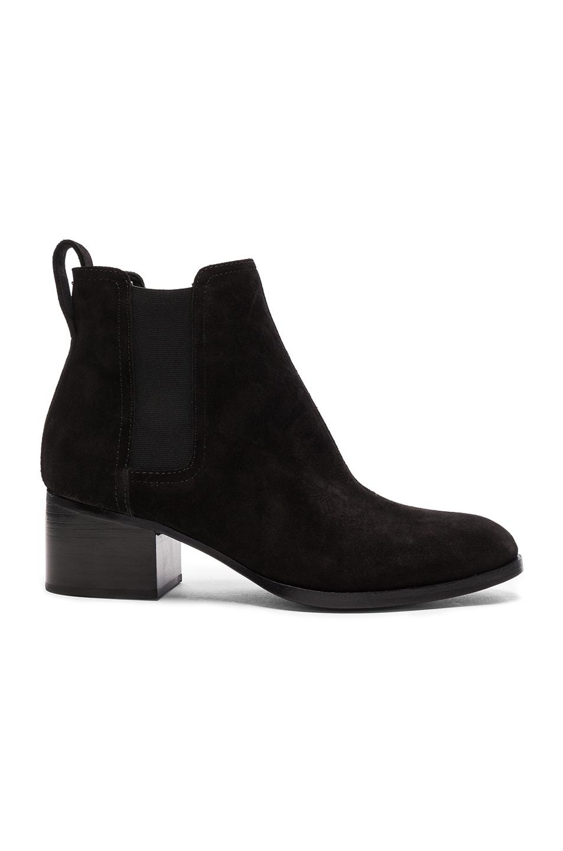 Image 1 of Rag & Bone Suede Walker Boots in Black Suede