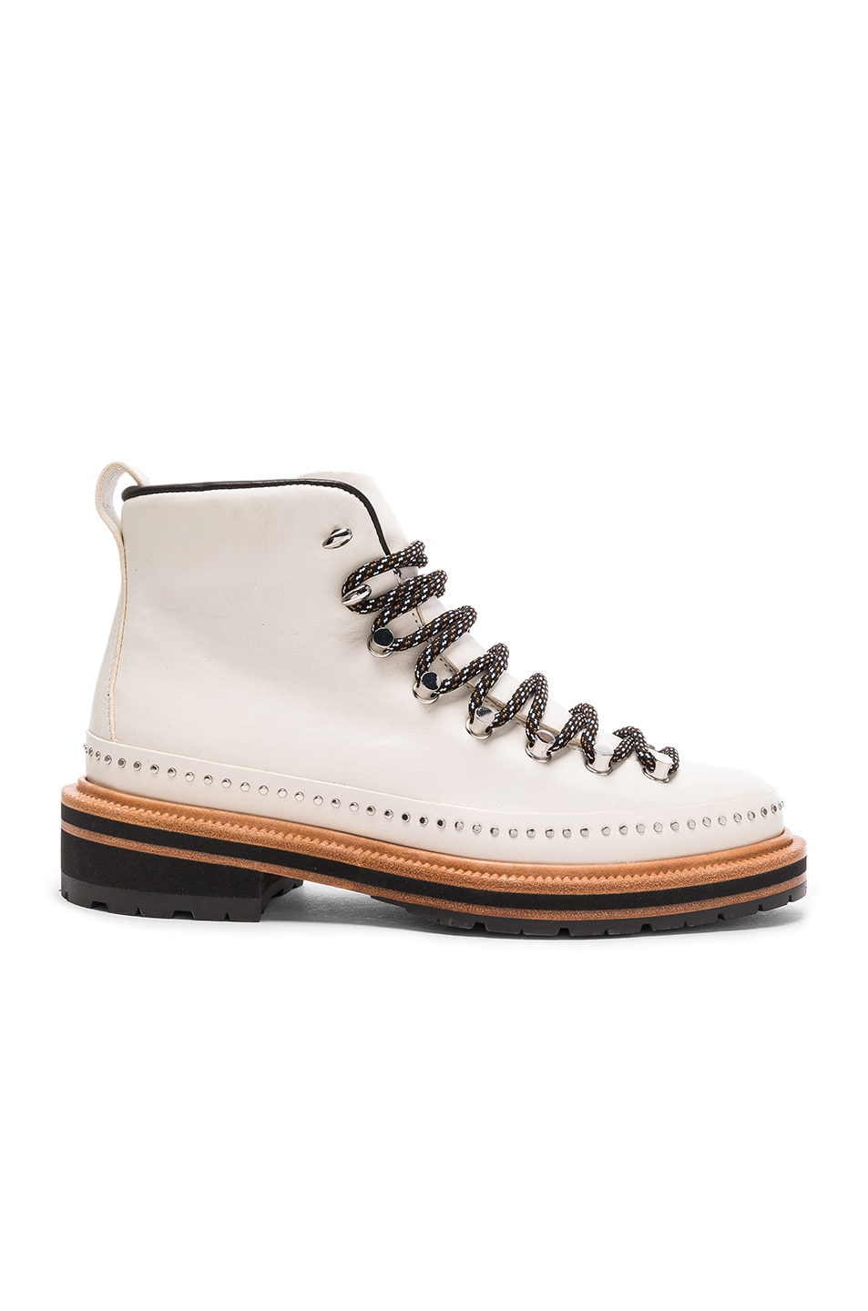 Image 1 of Rag & Bone Leather Compass Boots in Antique White