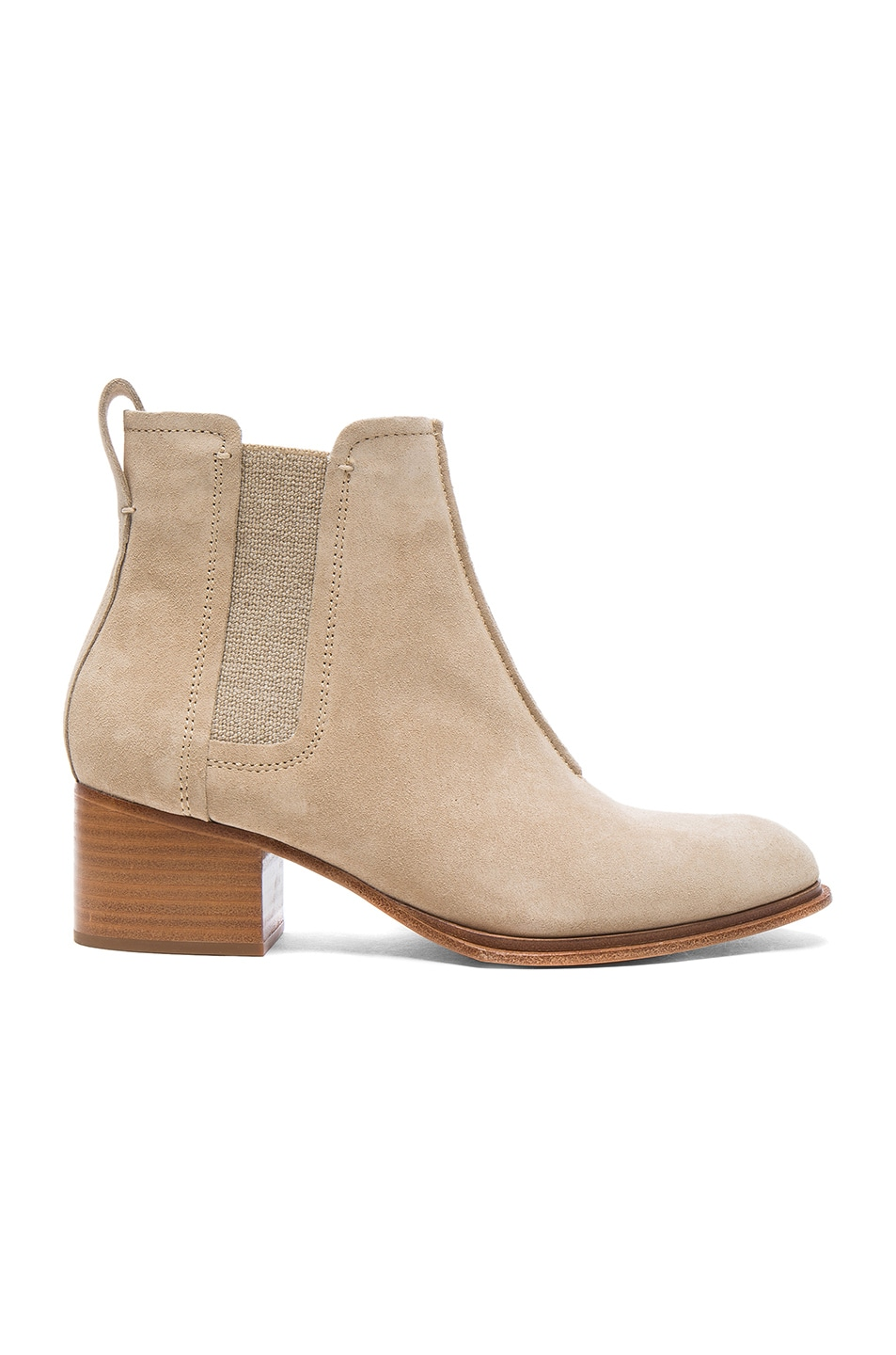 Image 1 of Rag & Bone Suede Walker II Boots in Stucco Suede