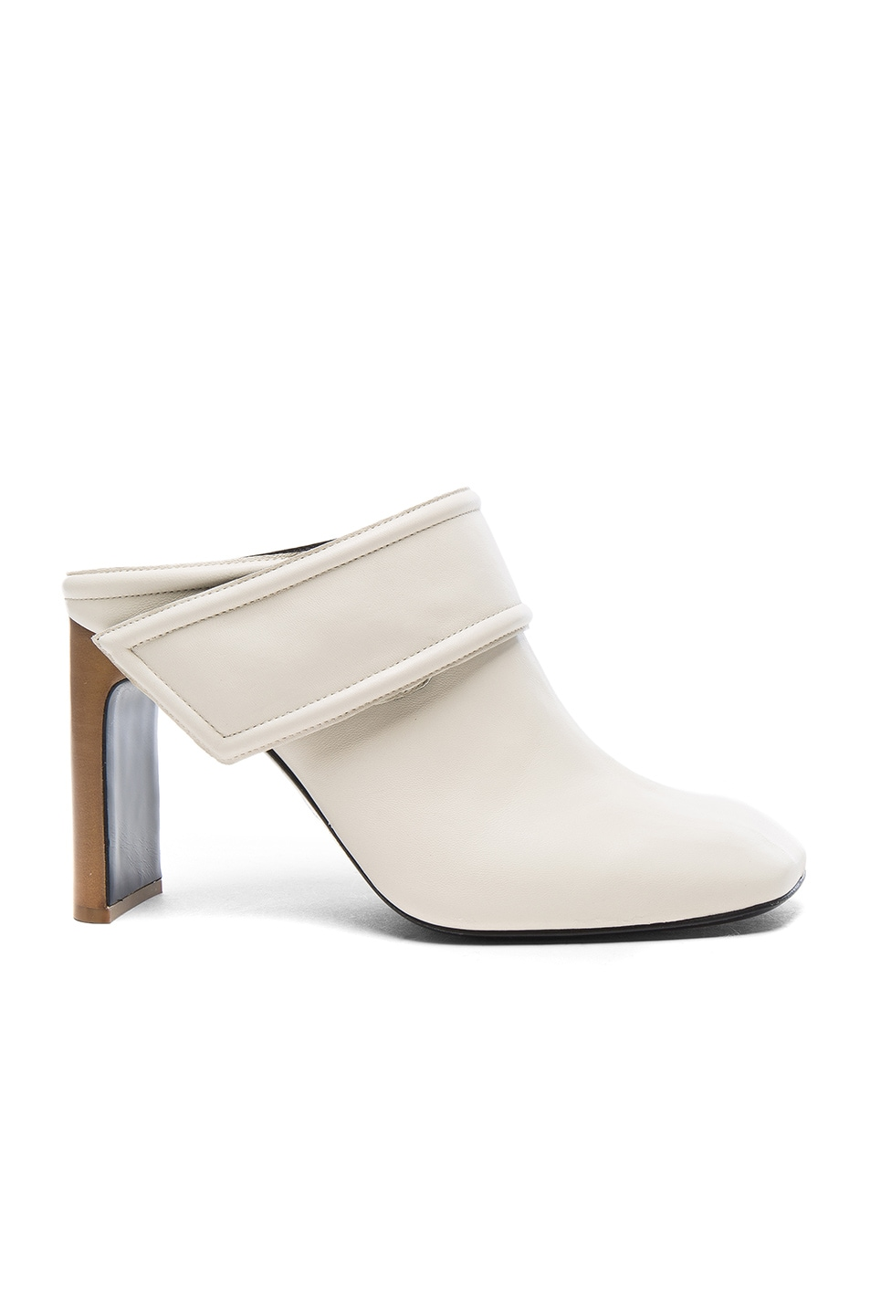 Image 1 of Rag & Bone Leather Elliott Booties in Ivory