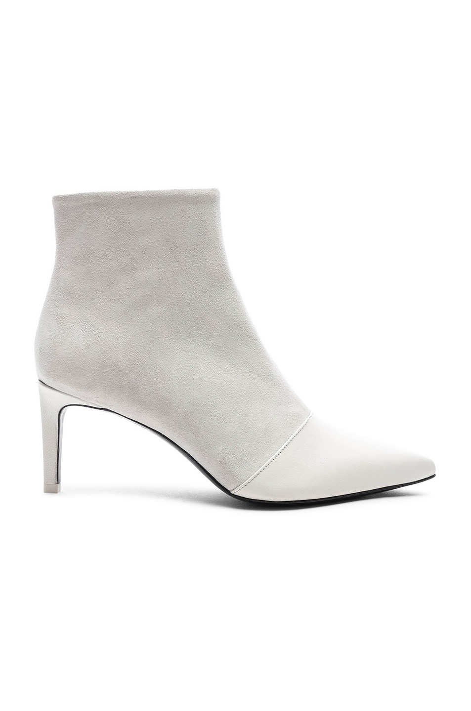 Image 1 of Rag & Bone Leather Beha Boots in White