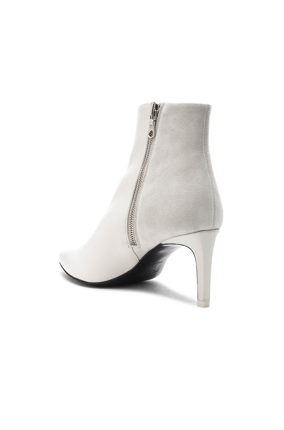 Image 3 of Rag & Bone Leather Beha Boots in White