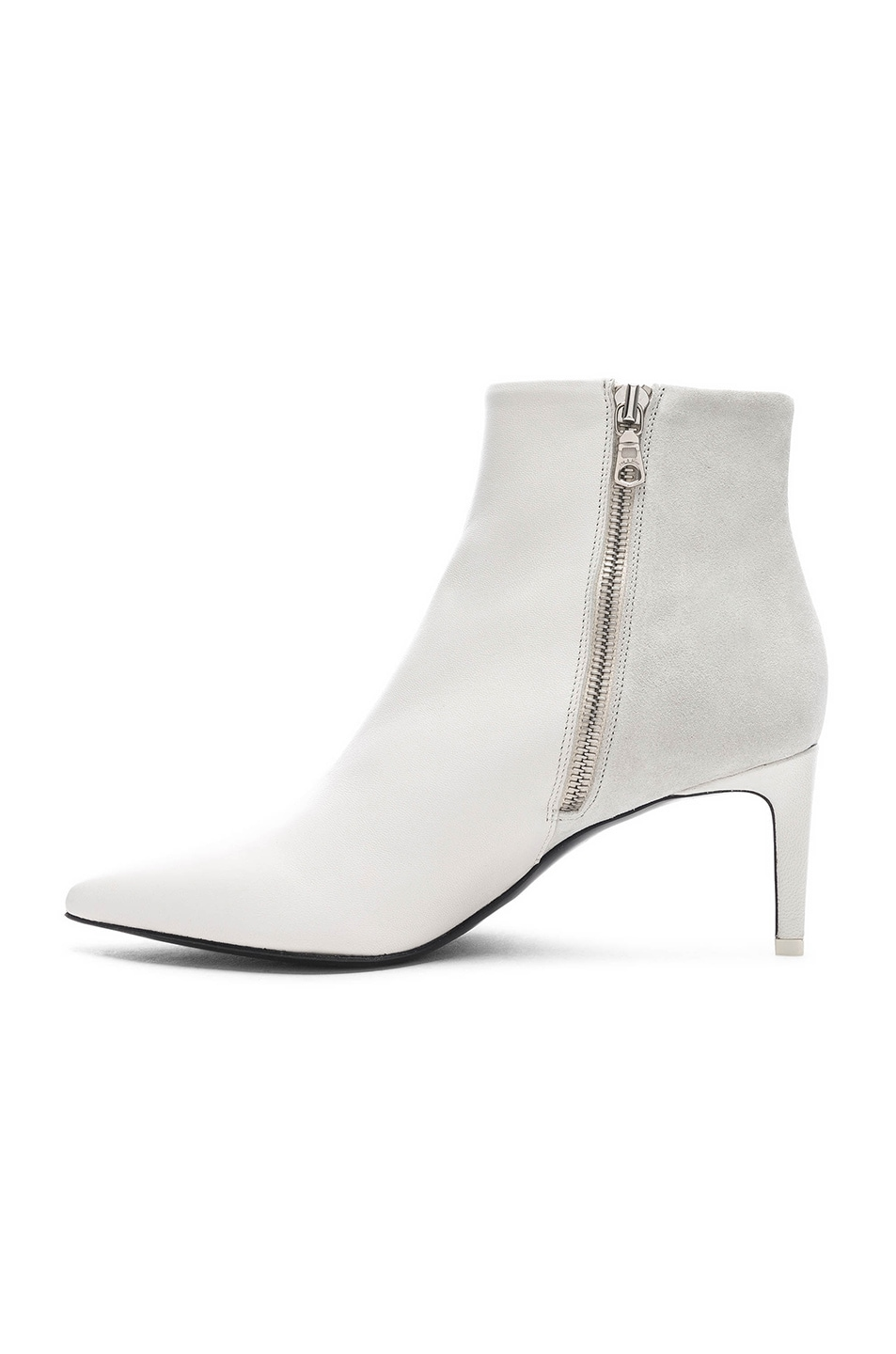 Image 5 of Rag & Bone Leather Beha Boots in White