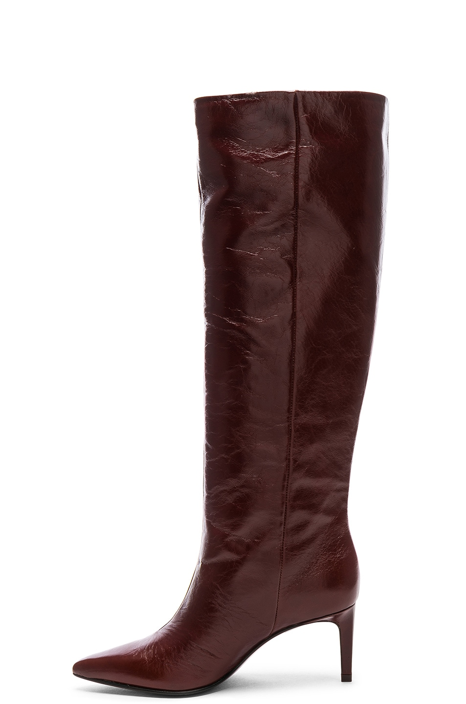 4029a2081e6 Image 5 of Rag   Bone Leather Beha Knee High Boots in Mahogany