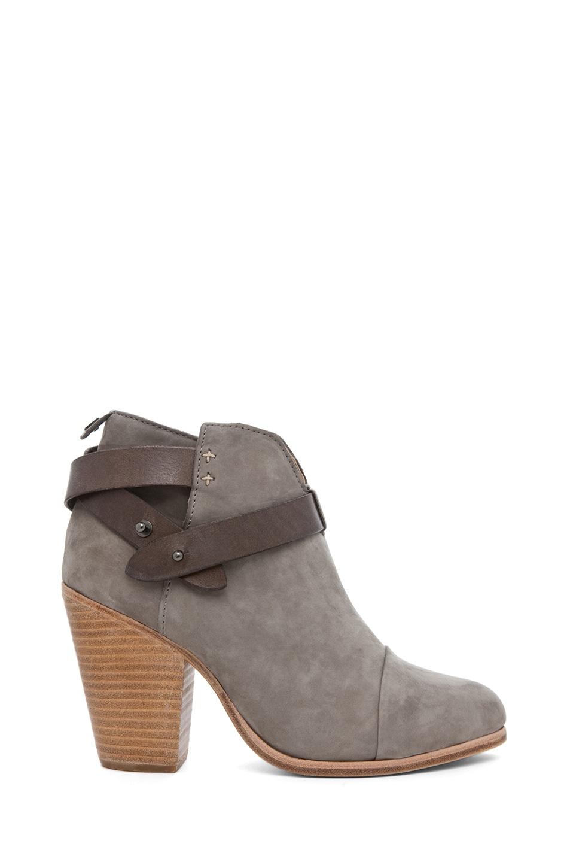 Image 1 of Rag & Bone Harrow Suede Boots in Grey