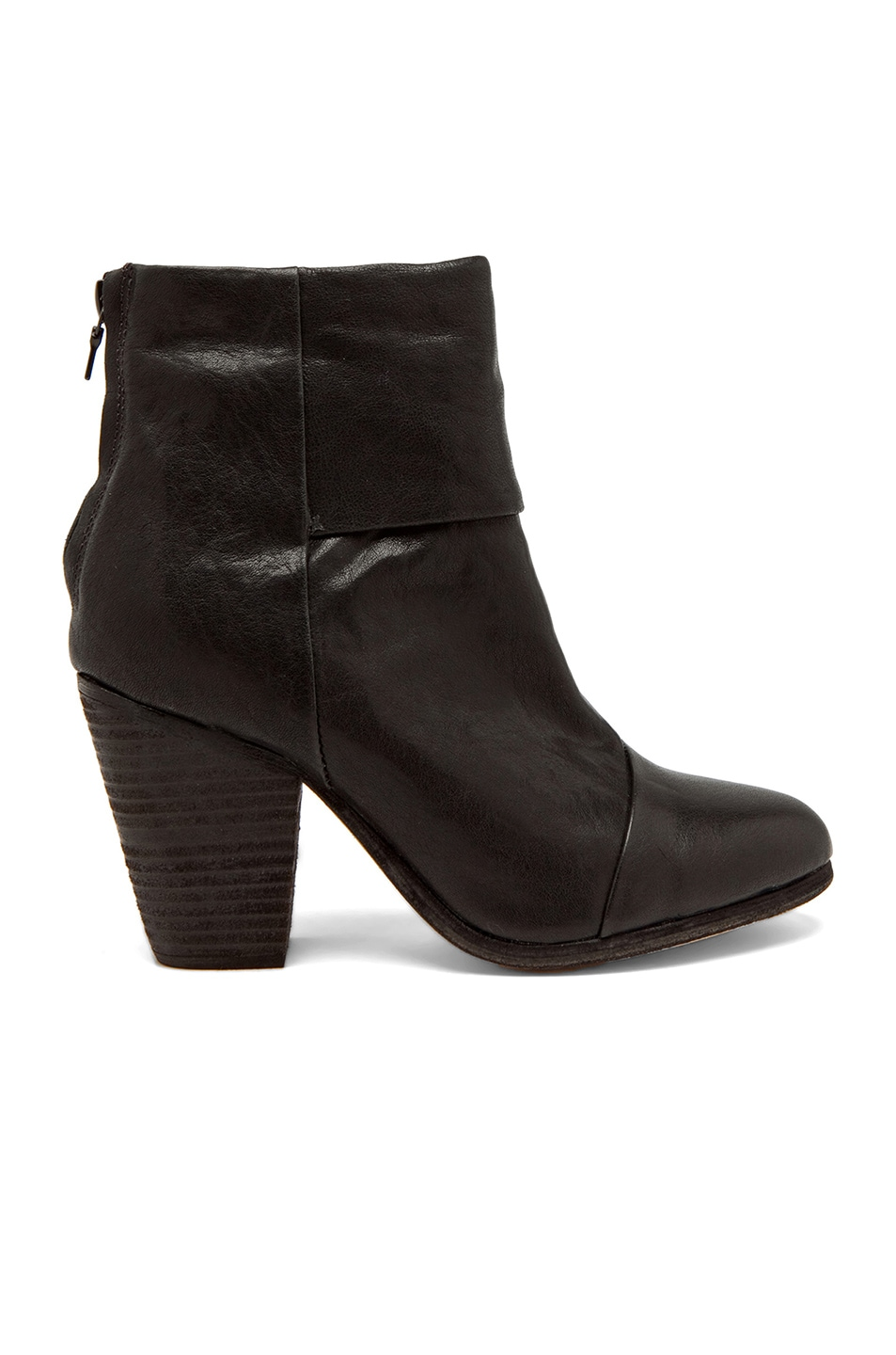 Image 1 of Rag & Bone Classic Newbury Leather Boots in Black
