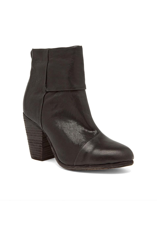 Image 2 of Rag & Bone Classic Newbury Leather Boots in Black