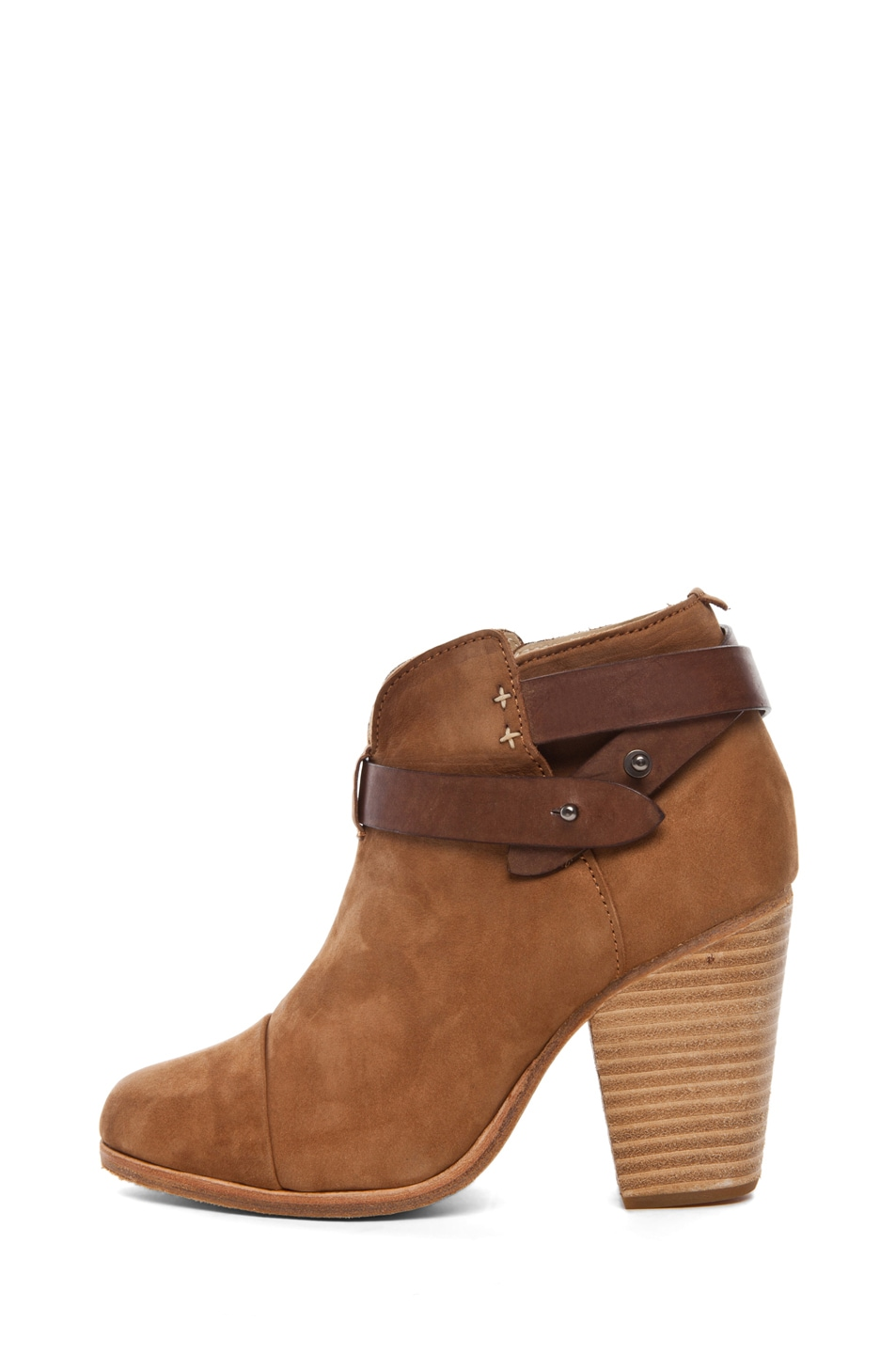 Image 1 of Rag & Bone Harrow Suede Boots in Camel