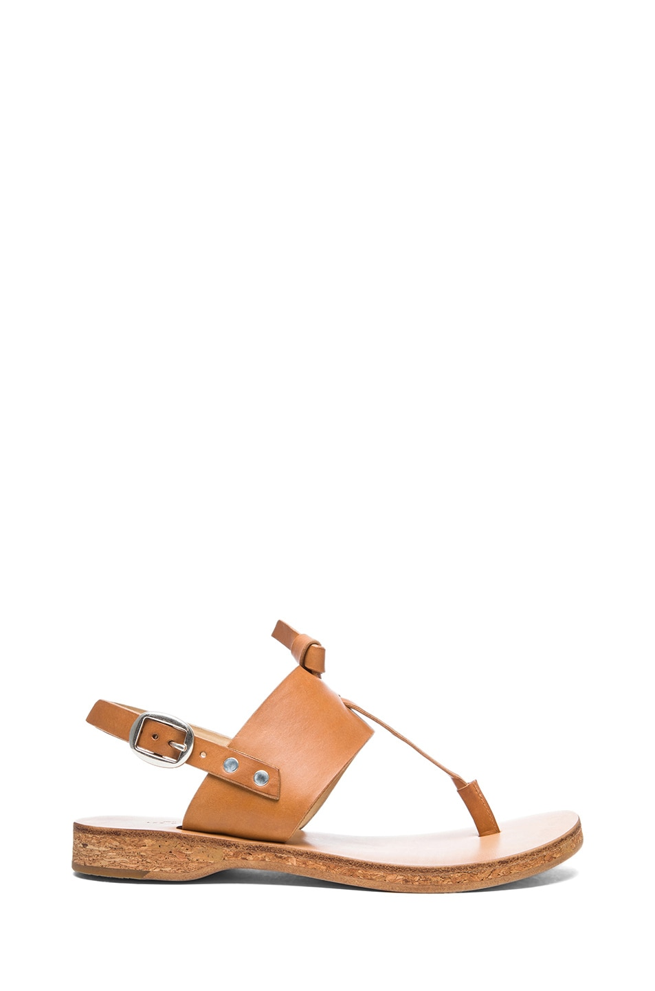 Image 1 of Rag & Bone Quinn Leather Sandals in Tan