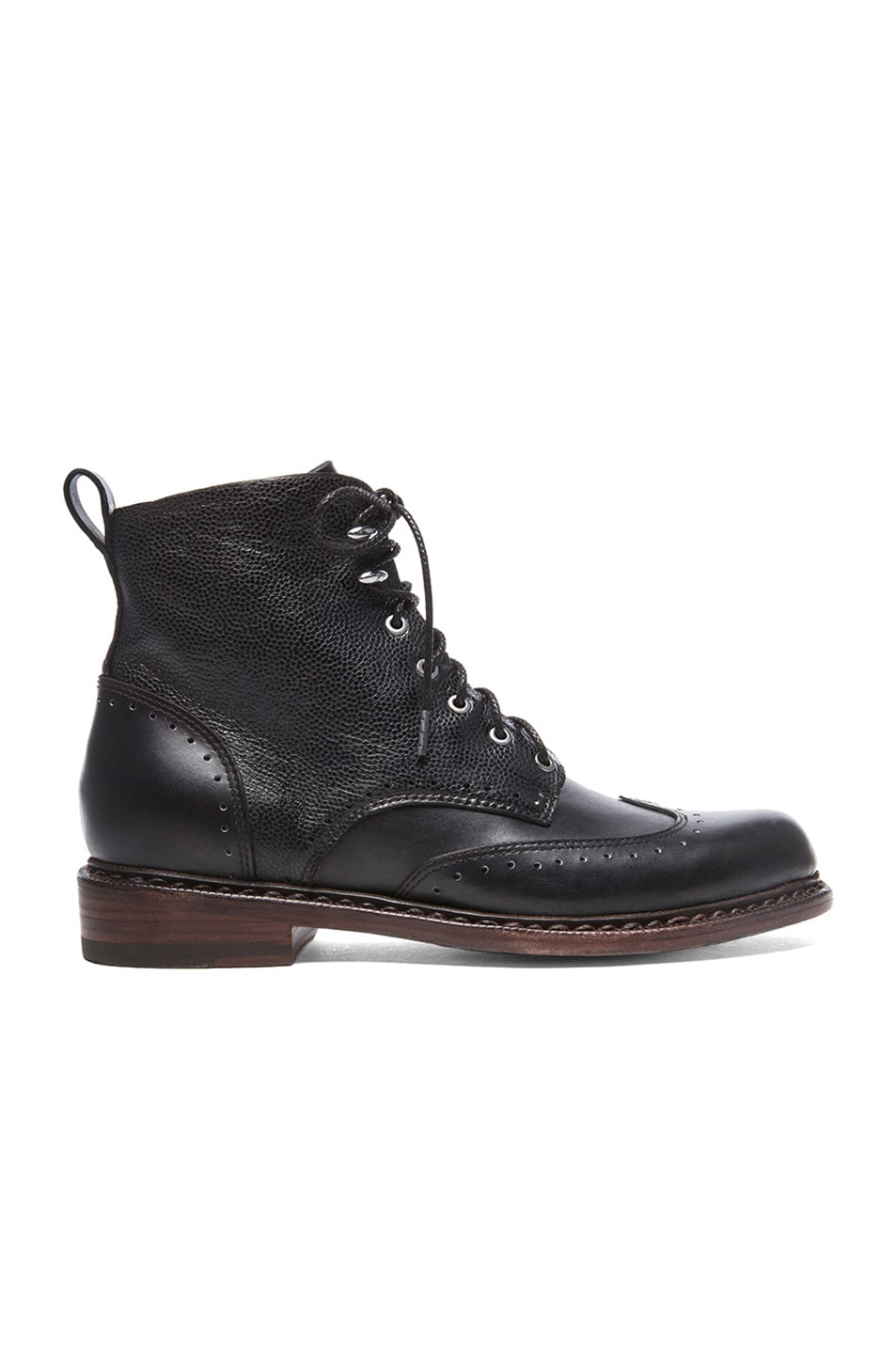 Image 1 of Rag & Bone Cozen Leather Boots in Black