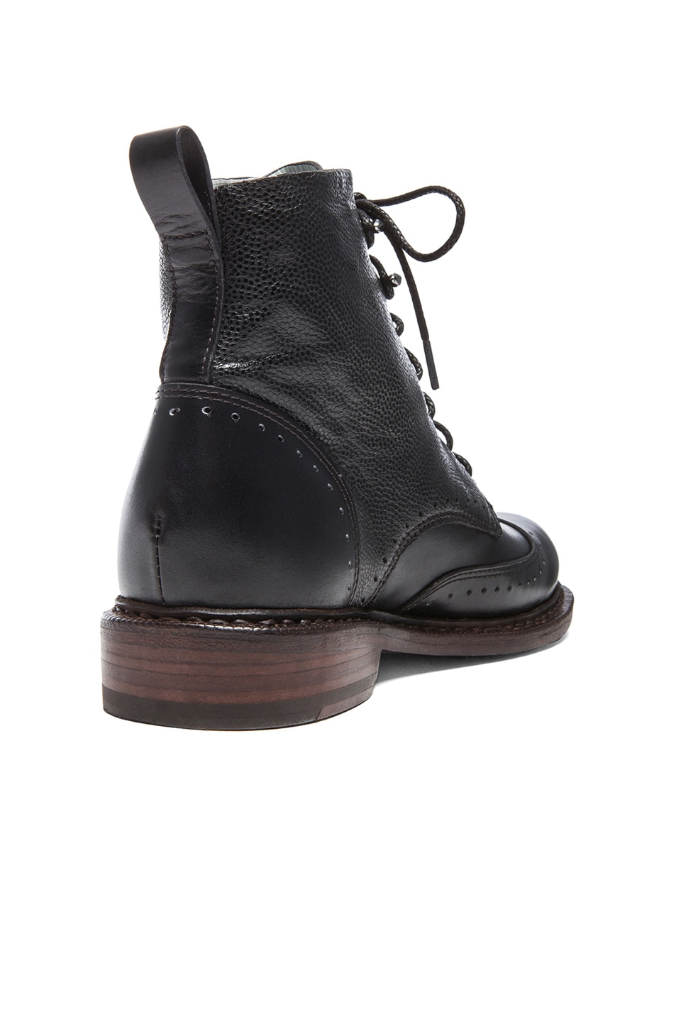 Image 3 of Rag & Bone Cozen Leather Boots in Black