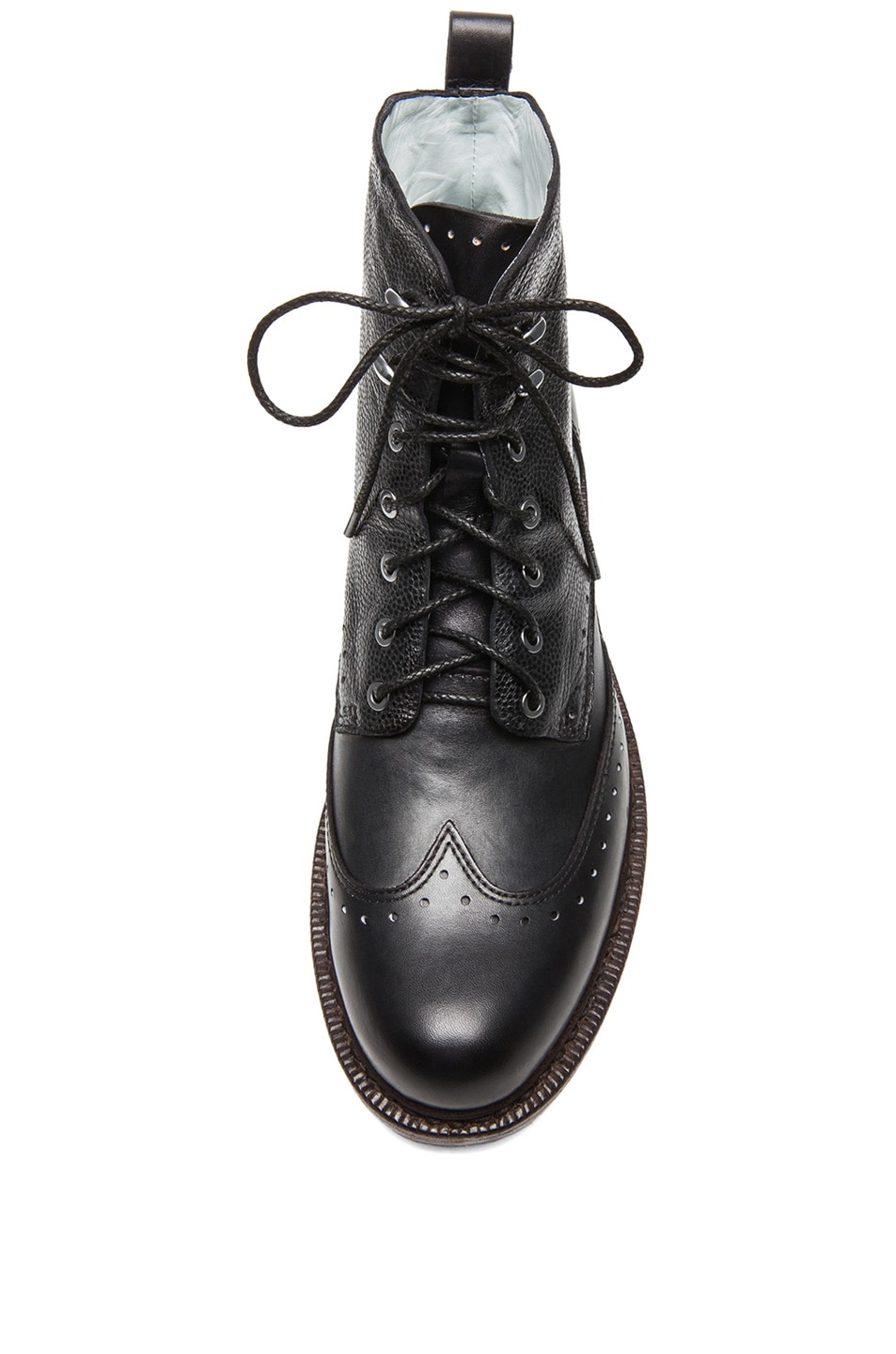 Image 4 of Rag & Bone Cozen Leather Boots in Black
