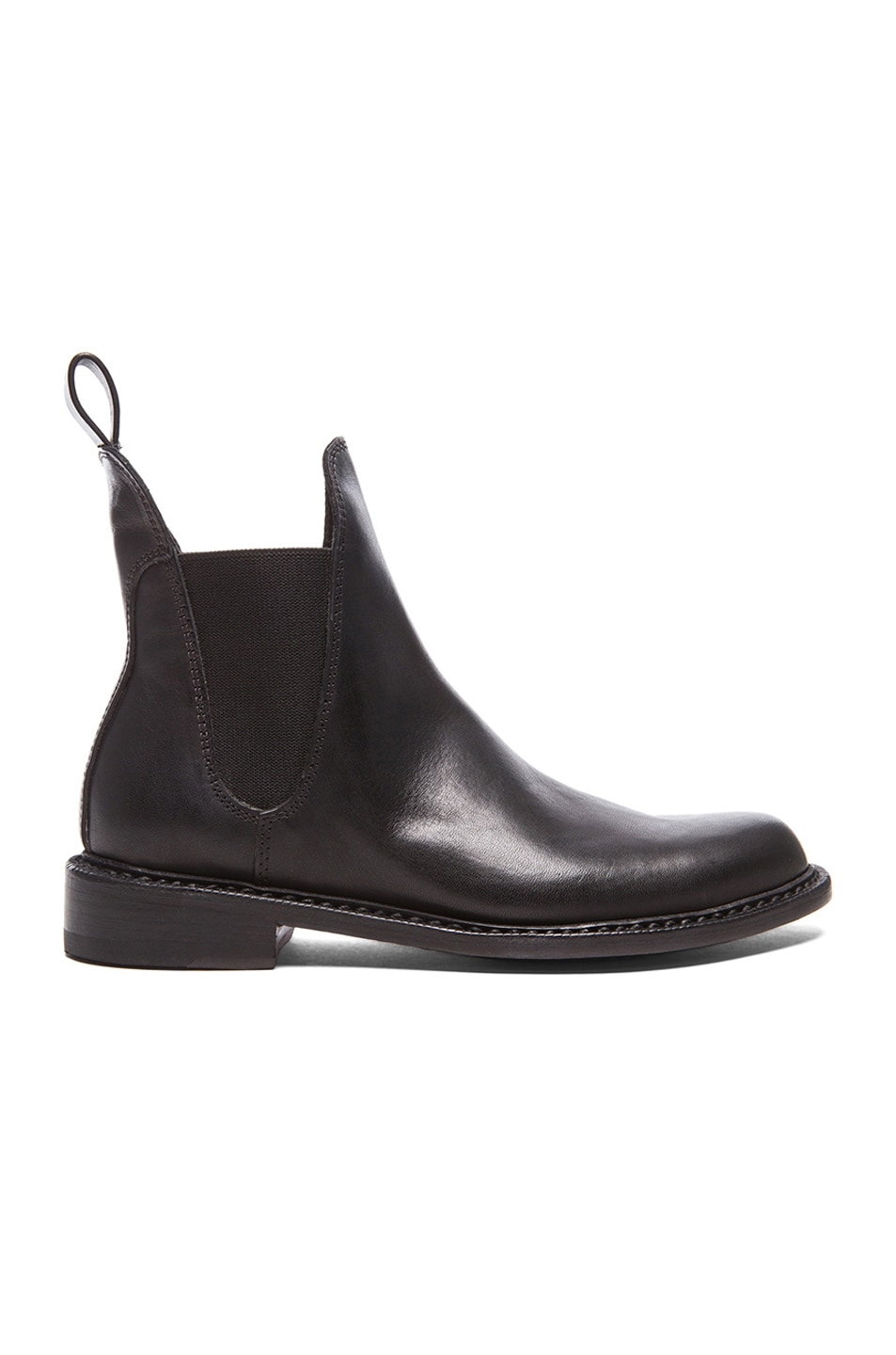 Image 1 of Rag & Bone Dartford Chelsea Leather Boots in Black