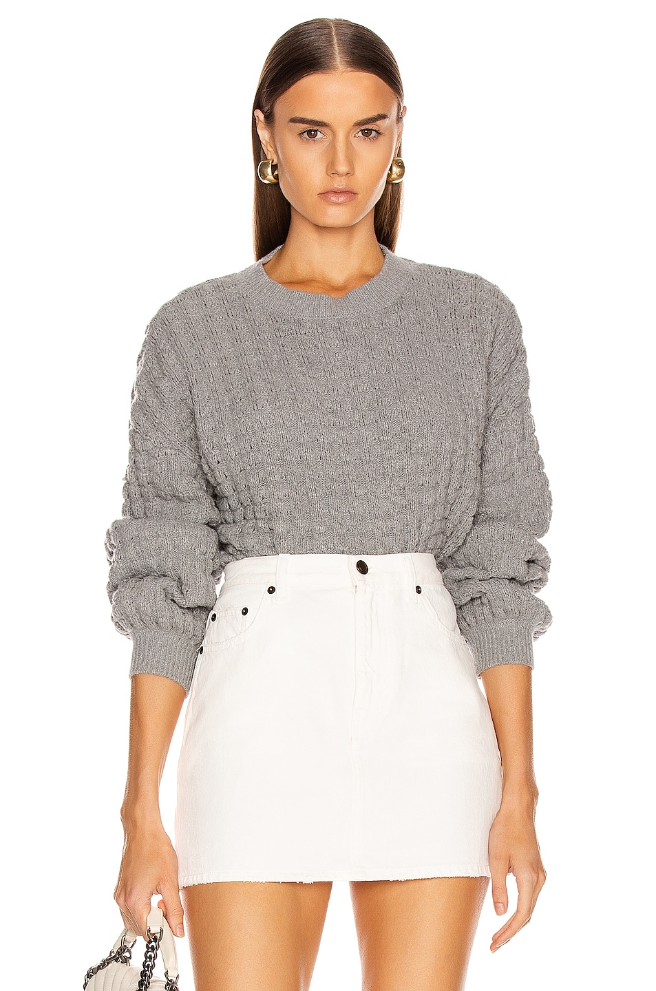 Image 1 of The Range Downy Sweater in Smoke