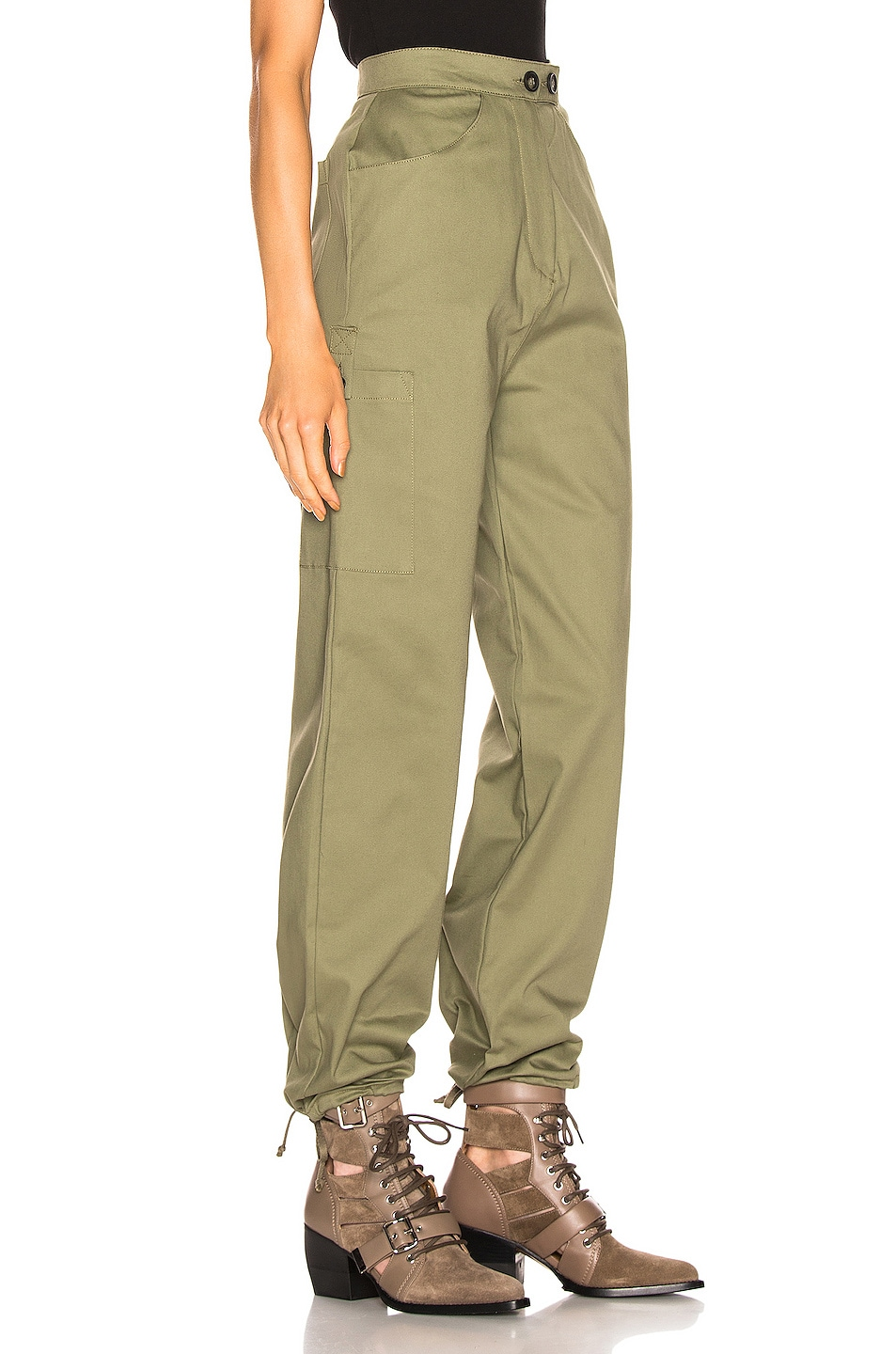 Image 3 of The Range Structured Cargo Pant in Fatigue