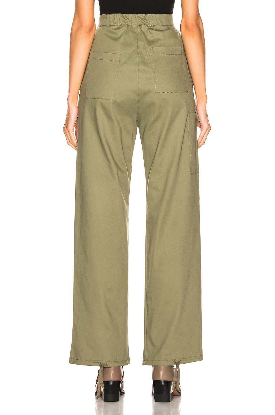 Image 4 of The Range Structured Cargo Pant in Fatigue