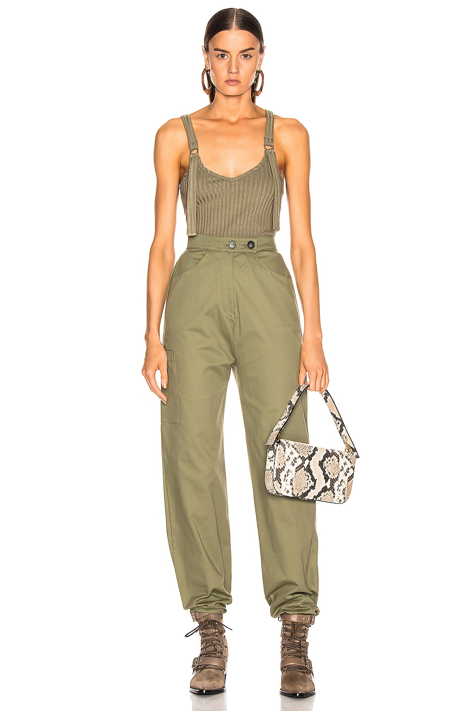 Image 5 of The Range Structured Cargo Pant in Fatigue