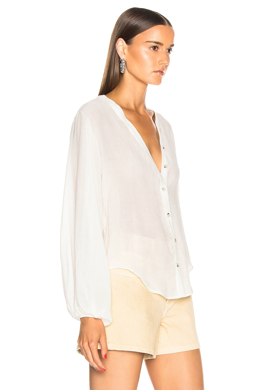 Image 2 of The Range Vapor Voile Shirt in Off White
