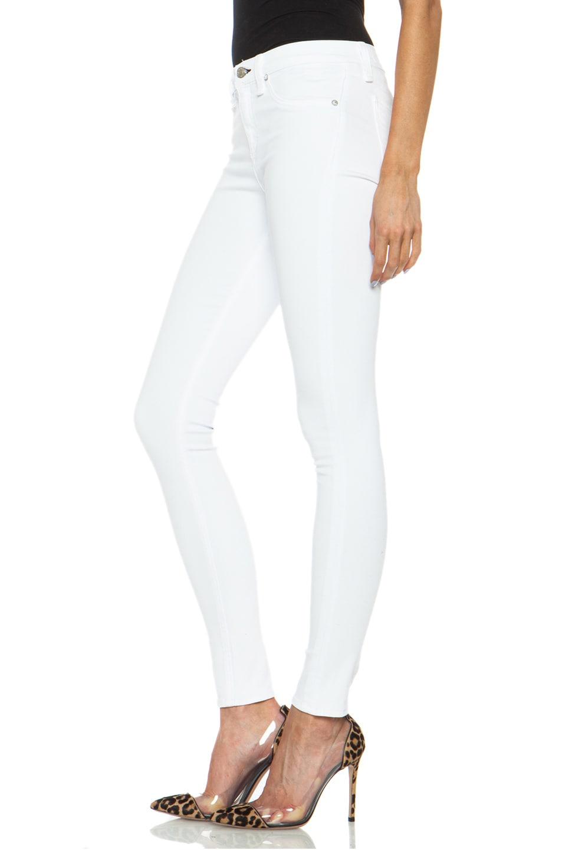 Image 2 of rag & bone/JEAN High Rise Skinny Jean in Bright White