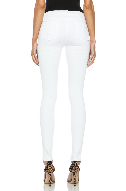 Image 4 of rag & bone/JEAN High Rise Skinny Jean in Bright White