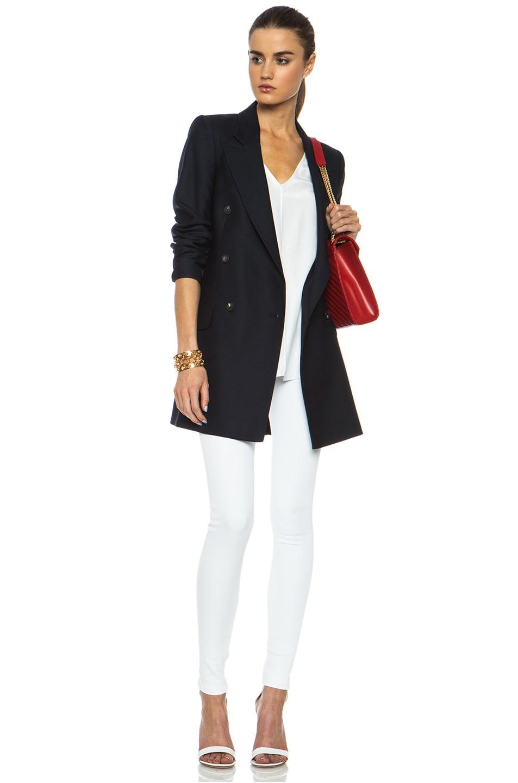 Image 5 of rag & bone/JEAN High Rise Skinny Jean in Bright White