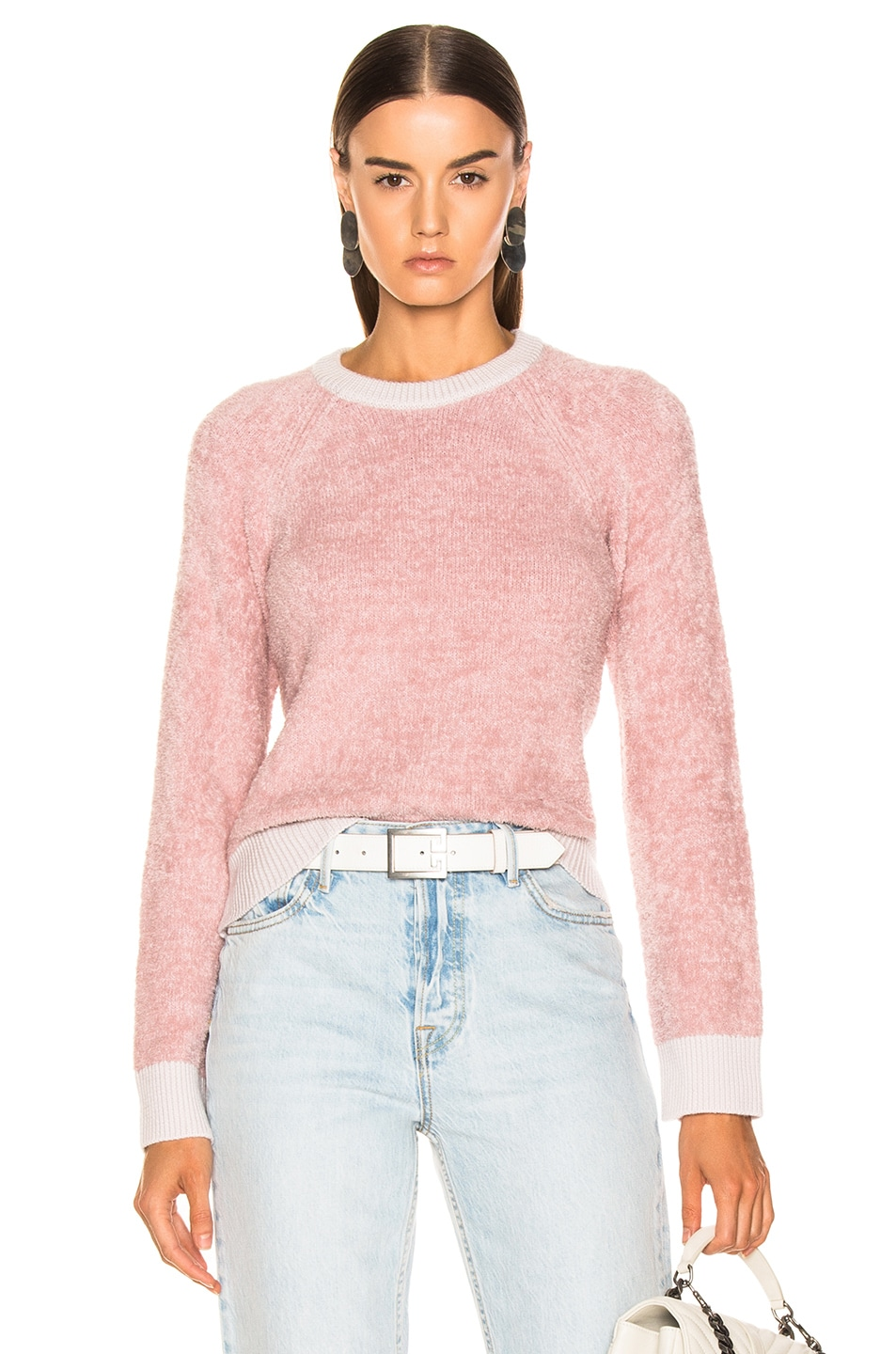 Image 1 of rag & bone/JEAN Valerie Crew in Blush