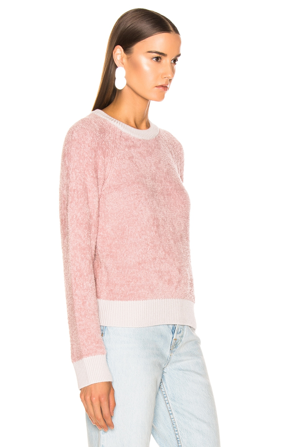 Image 2 of rag & bone/JEAN Valerie Crew in Blush