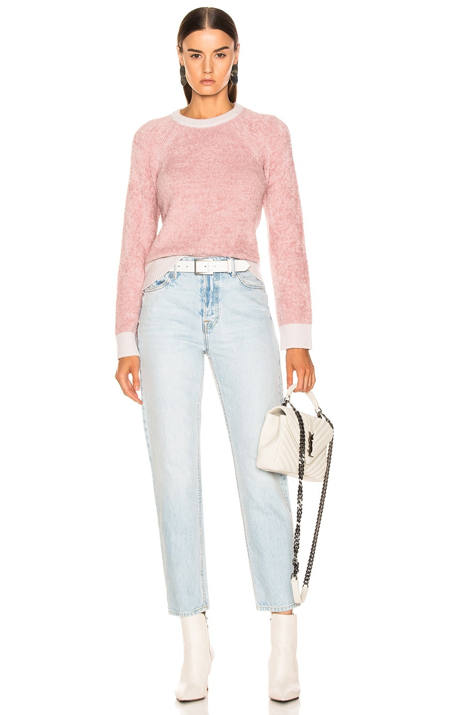 Image 4 of rag & bone/JEAN Valerie Crew in Blush