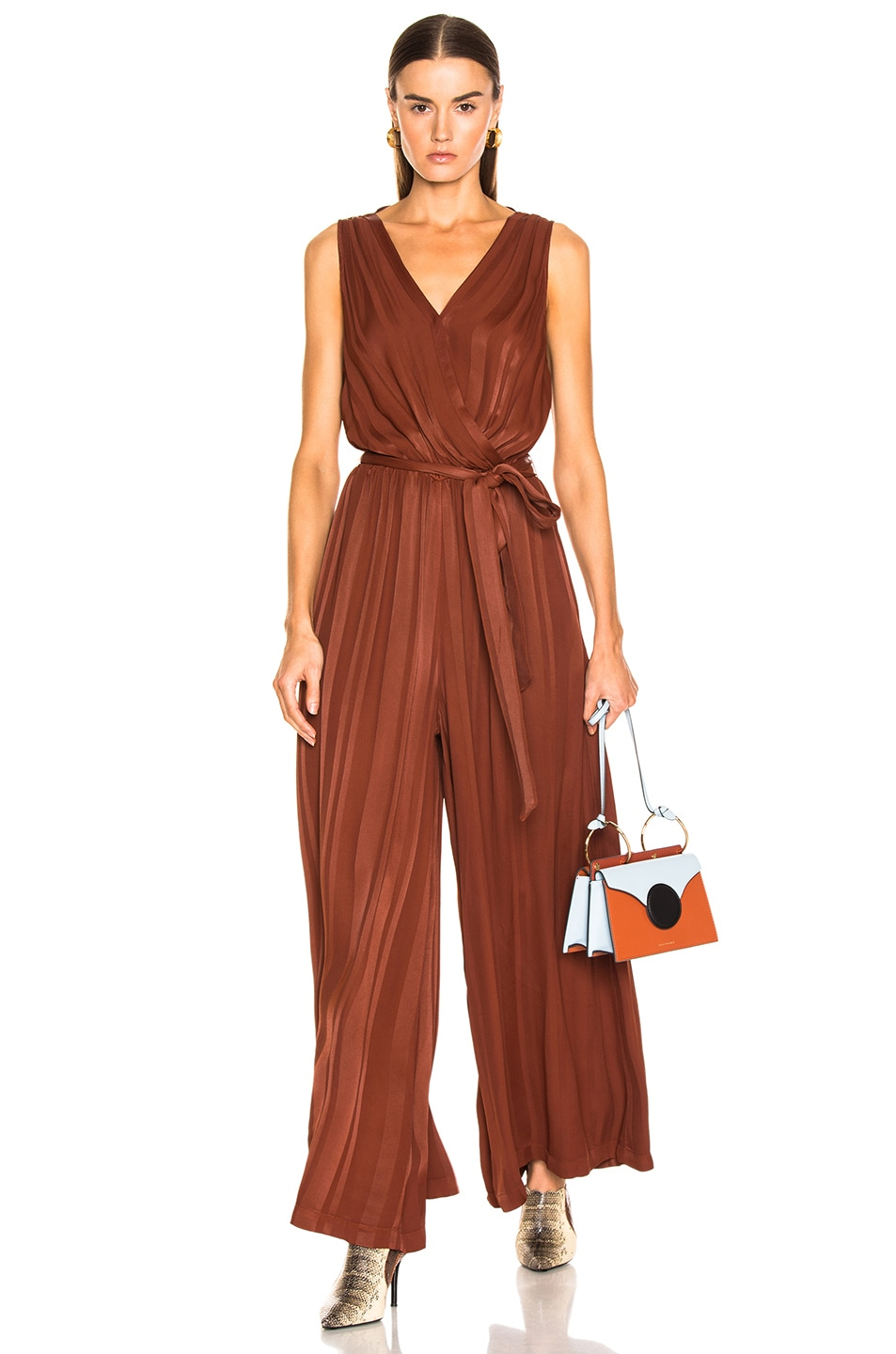 Image 1 of Raquel Allegra Jumpsuit in Paprika