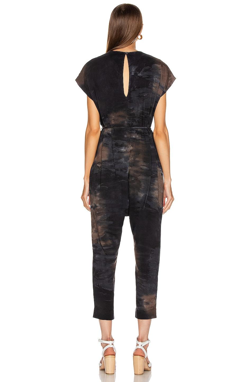 Image 3 of Raquel Allegra Jumpsuit in Midnight Tie Dye