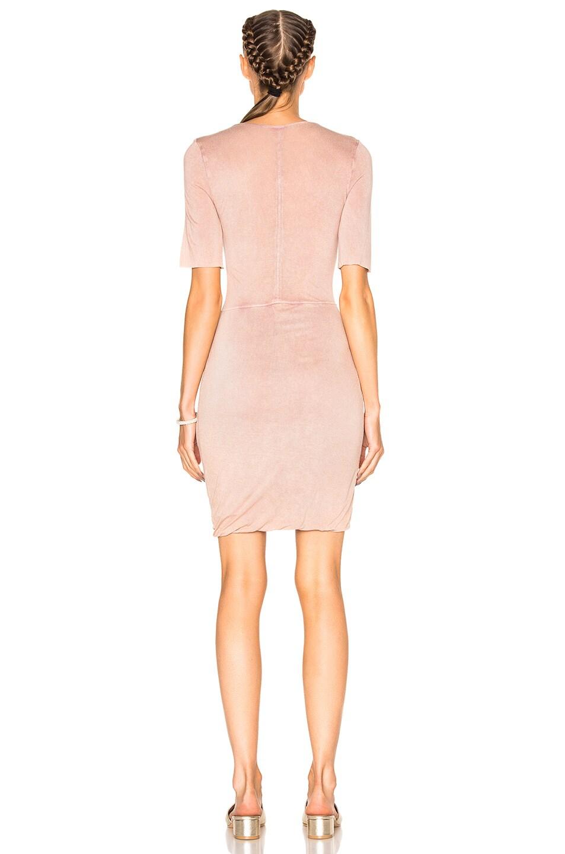 Image 4 of Raquel Allegra Jersey Twist Dress in Rose