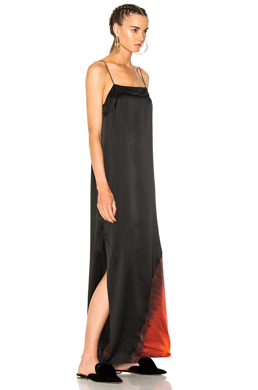 dd5020b5c79 Image 3 of Raquel Allegra Ombre Column Gown in Flame Tie Dye