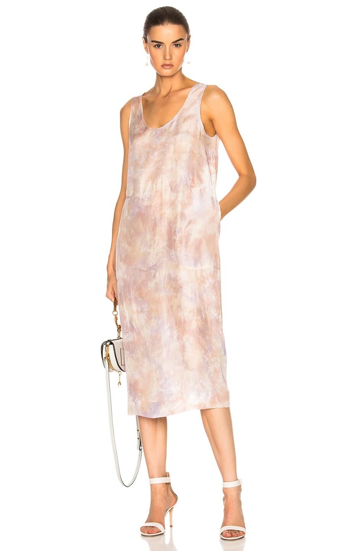 Raquel Allegra A Line Tank Dress in Neutrals,Ombre & Tie Dye