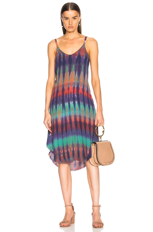 Image 1 of Raquel Allegra Slip Dress in Rainbow Nation