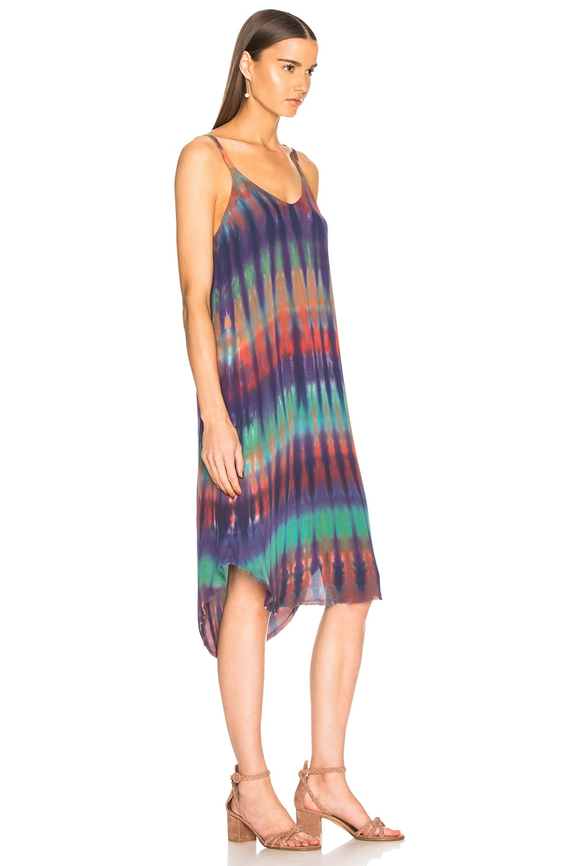 Image 2 of Raquel Allegra Slip Dress in Rainbow Nation
