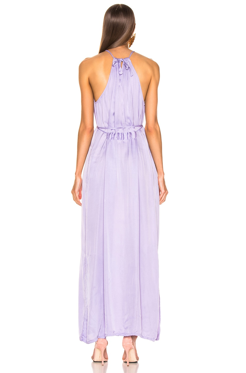 Image 3 of Raquel Allegra Halter Dress in Lilac